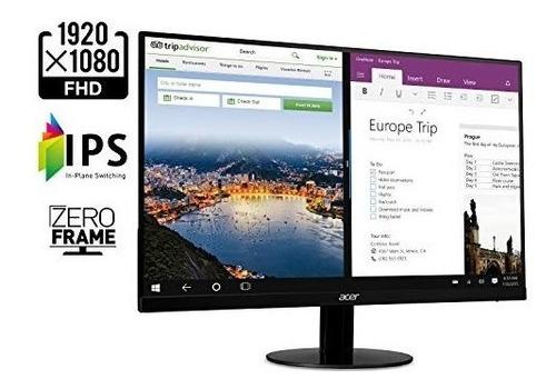 monitor 21.5 pulg acer full hd 1920x1080 ips ultra-thin zero