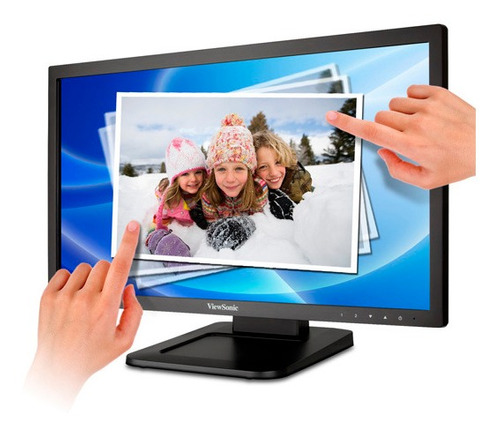 monitor 22  led viewsonic touch 1080p dvi/parlantes/usb/hdcp