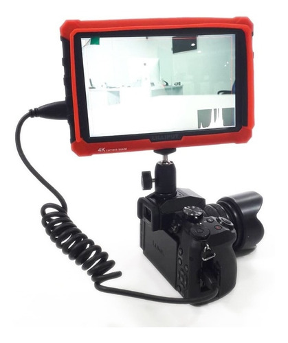 monitor 4k 7 pulgada full hd director de campo para cámaras