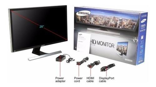 monitor 4k samsung 28 pulgadas u28e590d  cometware+inc