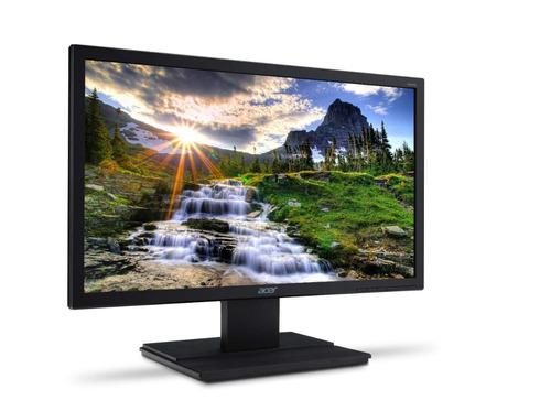 monitor acer 20 led vga hdmi 19.5  v6 series 1366x768
