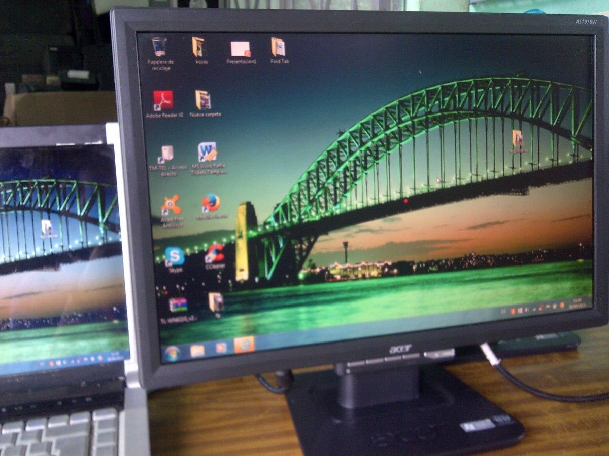 Acer Al1916w Resolution