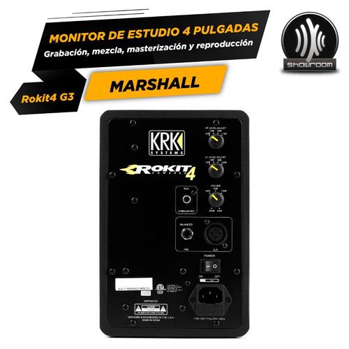 monitor activo krk rokit 4 g3