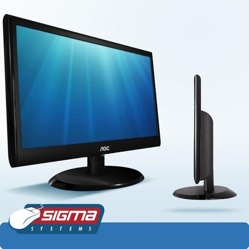 monitor aoc 18.5   e970sw led puerto vga nuevo