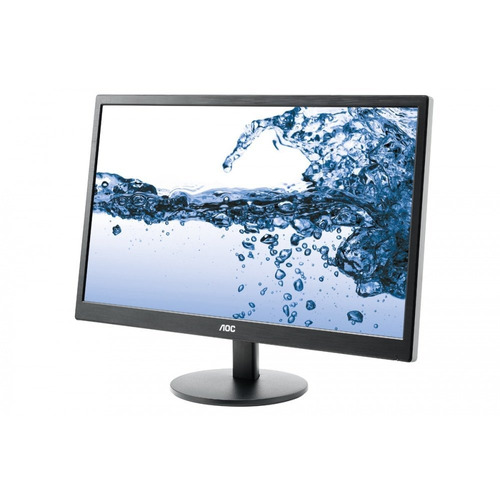 monitor aoc 21,5  panel tn full hd (vga -  hdmi) - e2270swhn