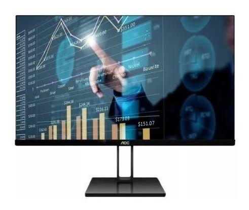 monitor aoc 22 22v2h ips/hdmi/vga- super fino - com nfe