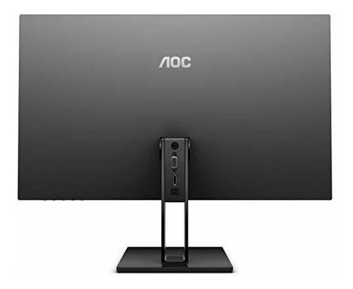 monitor aoc 24v2h led delgado sin marco 24 pulgadas panel ip