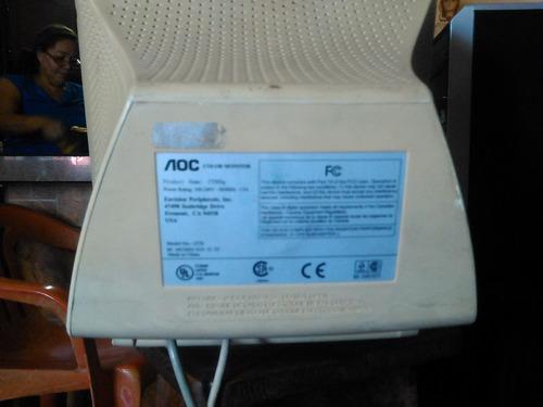 monitor aoc convencional 13 pulgadas