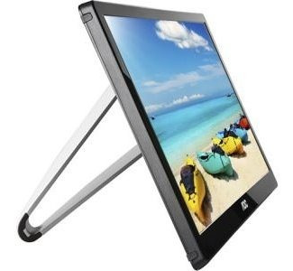 monitor aoc de 15.6'' pantalla led panel ips full hd de