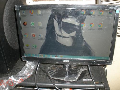 monitor aoc e1621sw - led  - 15.6  original nuevo