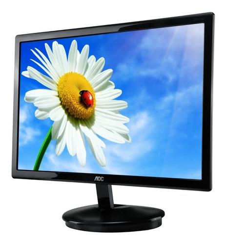 monitor aoc e2043fsk, 20  led, 1600x900, vga.
