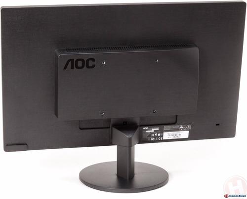 monitor aoc led 18.5 pulgadas e970sw 100% nuevo vga