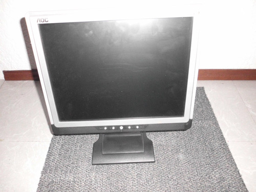 monitor aoc pantalla plana $ 1100 impecable estado