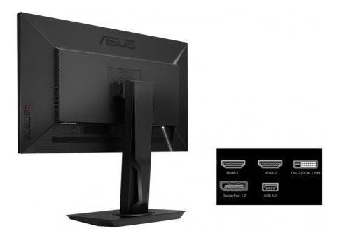 Monitor Asus Gamer 27'' Mg278q Wqhd Usb/dvi-d/hdmi/dp/preto