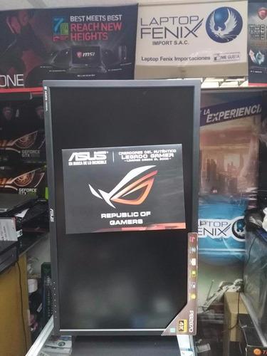 monitor asus rog gamer pb287q 28  led 4k ultrahd