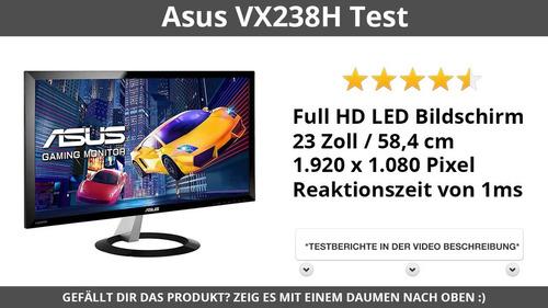 monitor asus vx238h 23  full hd ultraslim hdmi vga stereo !!