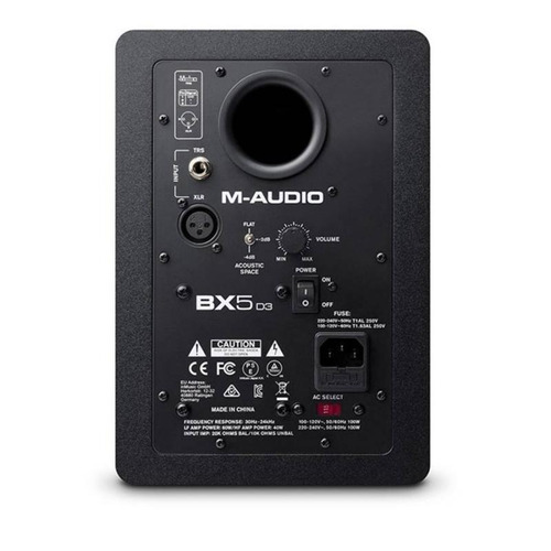 monitor ativo m-áudio 5 estúdio bx5d3 bivolt (uni)