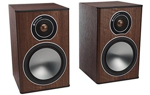 monitor audio bronze series 1 2 vías altavoces de estante