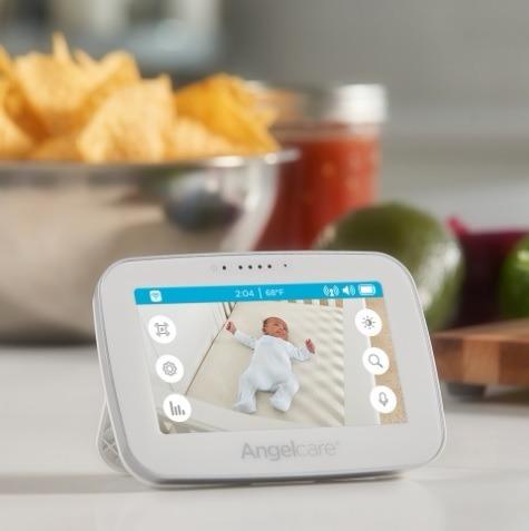 monitor bebe audio video movimiento angel care ac417 inalamb