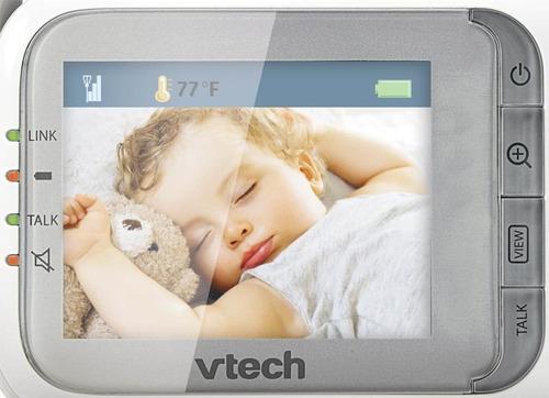 monitor bebé vtech  sonido y video a color  vm321