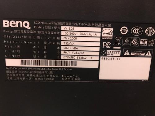 monitor benq 15`` modelo t52wa