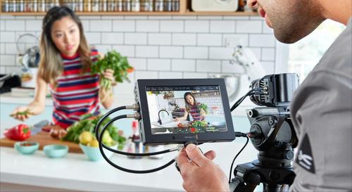 monitor blackmagic design video assist 4k 7  hdmi/6g-sdi