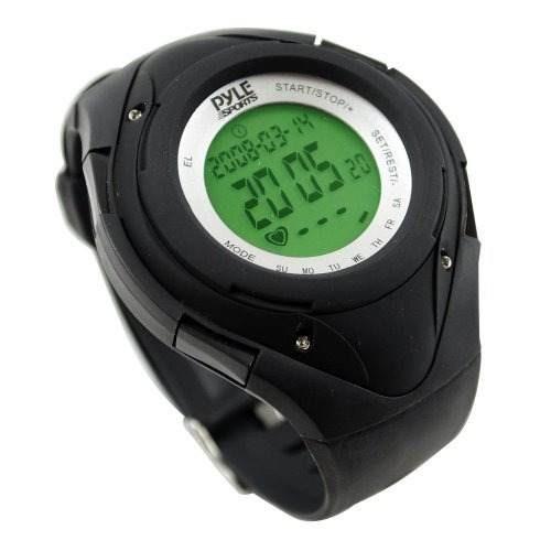 monitor cardíaco pyle sensor de funcionamiento 3d negro
