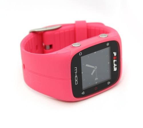 7593661ffab Relógio Polar M400 Monitor Cardíaco Gps Bluetooth Rosa - R  749