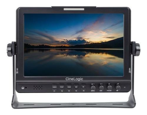 monitor cinelogic mod. cl-10 profesional para audio y video