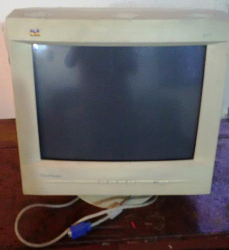 monitor crt 17 viewsonic e70f en perfecto estado