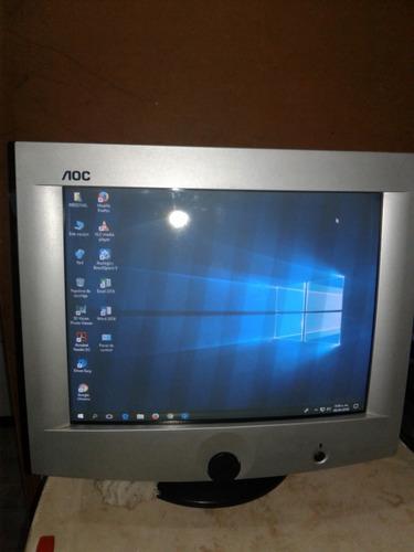monitor crt convencional 17 aoc