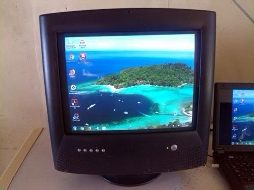 monitor crt convencional dell e771mm grande cornetas dtb