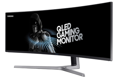 monitor curvo 49 super ultra-wide metal quantum dot samsung