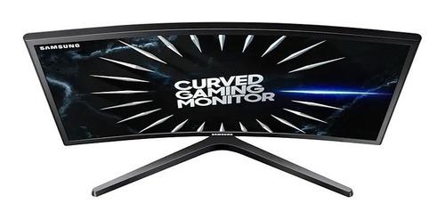 monitor curvo gamer 24  samsung rg50 full hd 144hz 1ms