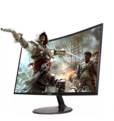 monitor curvo gamer 27'' samsung c27f390fhl full hd hdmi