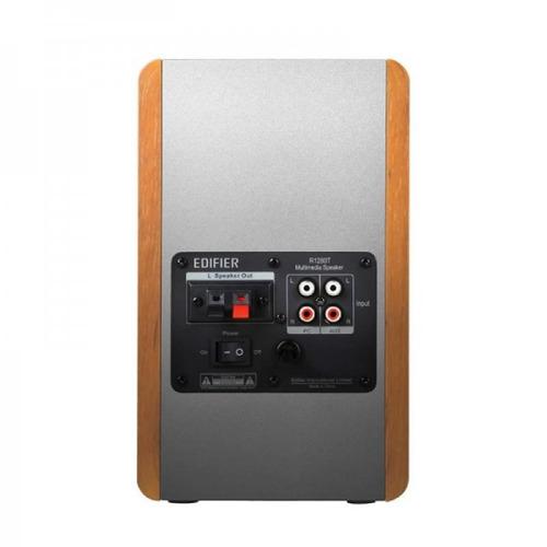 monitor de áudio edifier estúdio r1280t madeira