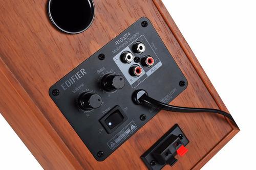 monitor de campo edifier r1000 t4 brown wood color madera
