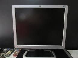 monitor de computadora 17 pulgadas marca hp como nuevo