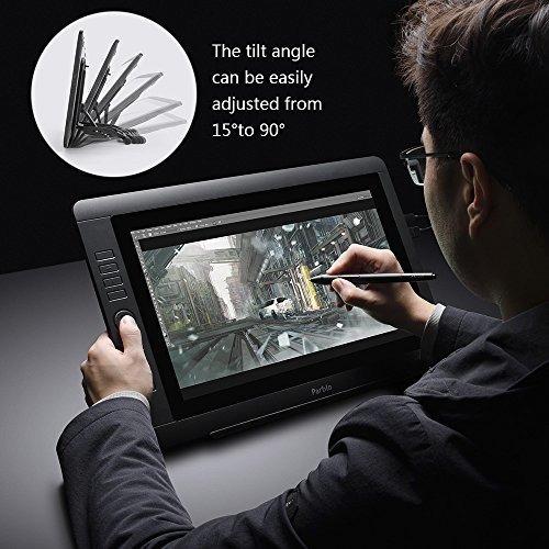 monitor de dibujo gráfico digital parblo coast16 de 15,6 plg
