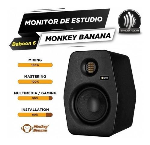 monitor de estudio activo monkey banana baboon 6 60w
