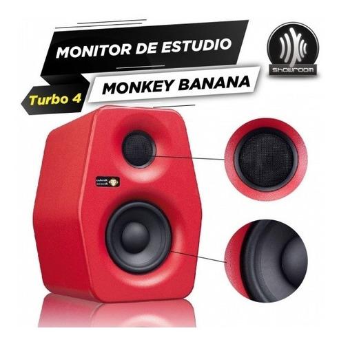 monitor de estudio activo monkey banana turbo 4 30w