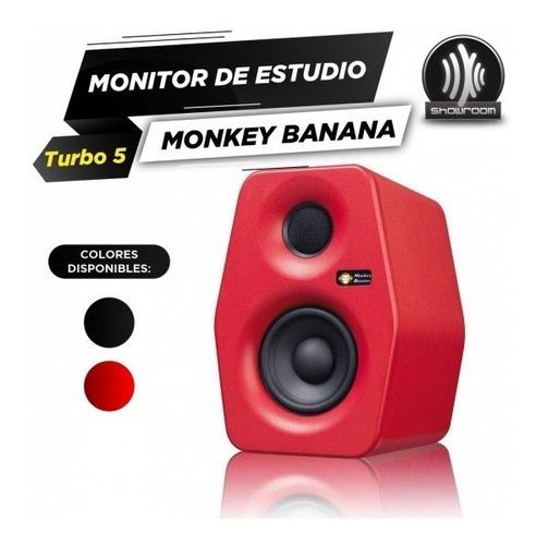 monitor de estudio activo monkey banana turbo 5 50w