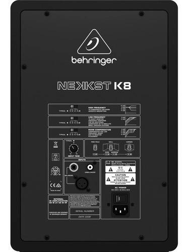 monitor de estudio behringer k8