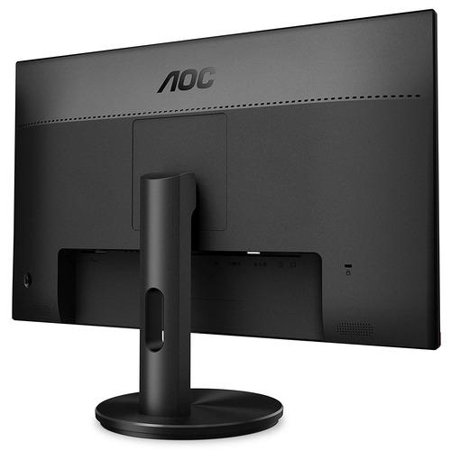 monitor de juegos aoc, freesync, negro / rojo 25 pulgadas