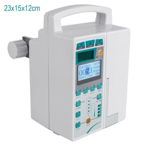 monitor de lcd de infusión bomba iv líquido máquina voz