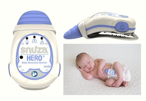 monitor de movimiento para bebe snuza hero