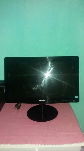 monitor de pc philips 16 polegadas com 8 meses de usso.