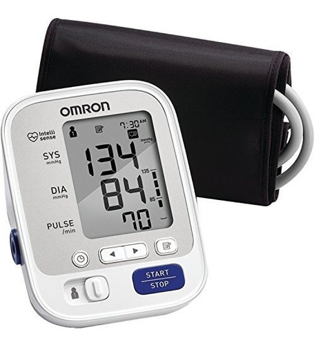 monitor de presión arterial del brazo superior omron serie 5