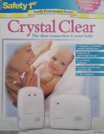 monitor de sonido vigilancia de bebes safety