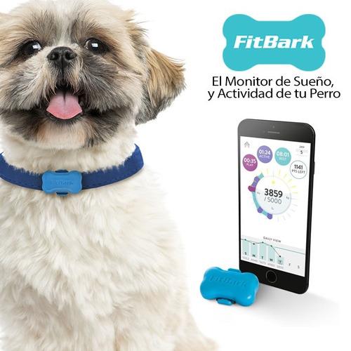 monitor de sueño y actividad de tu perro fitbark con tu celu